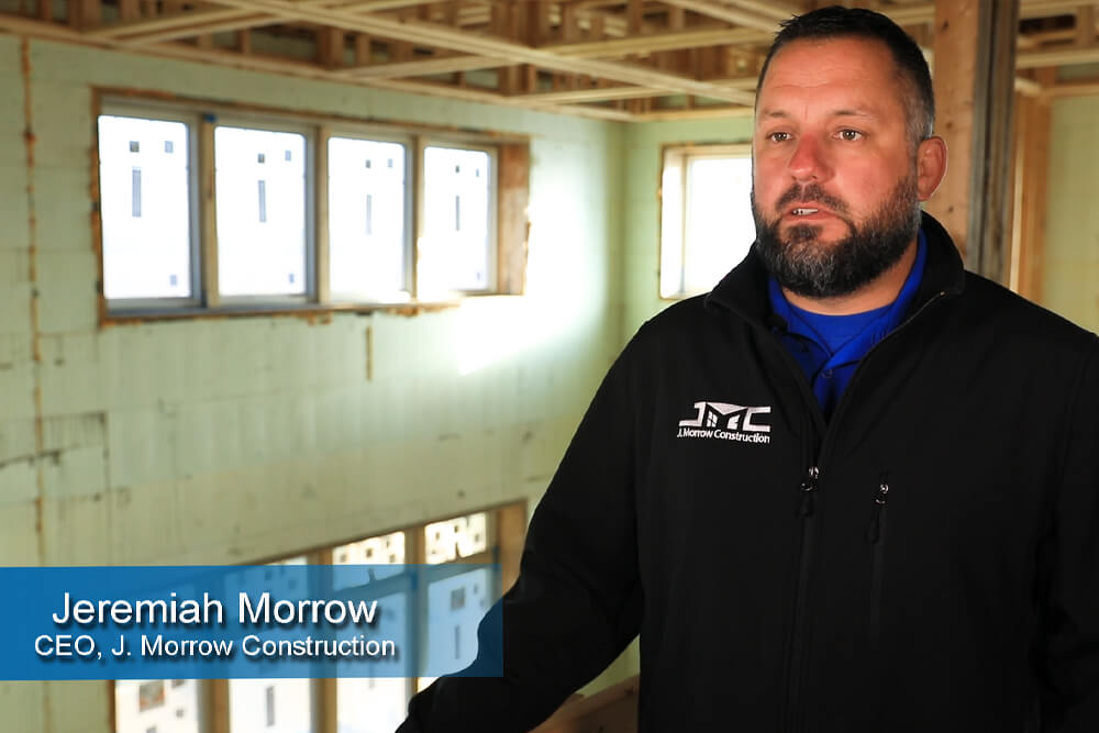 J. Morrow Construction chooses Nudura ICF from Holdfast. See why.
