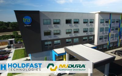TRU by Hilton build with Nudura ICF