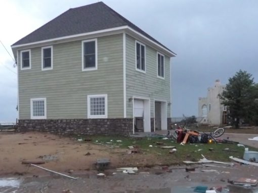 This home, built with ICF, withstood Hurricane Sandy back in 2012.