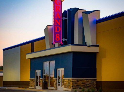 Movie theater owners choose to build with ICF because of its sound insulation properties..